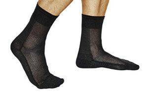Calcetines con fibra de plata