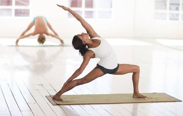 Esterilla para hacer Yoga