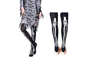 Calcetines medias y pantis para halloween