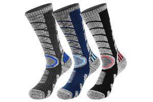 Calcetines termicos, calefactables para deportes de invierno