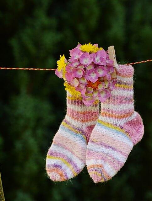 usar calcetín suelto