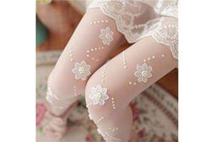 medias pantimedia blancas