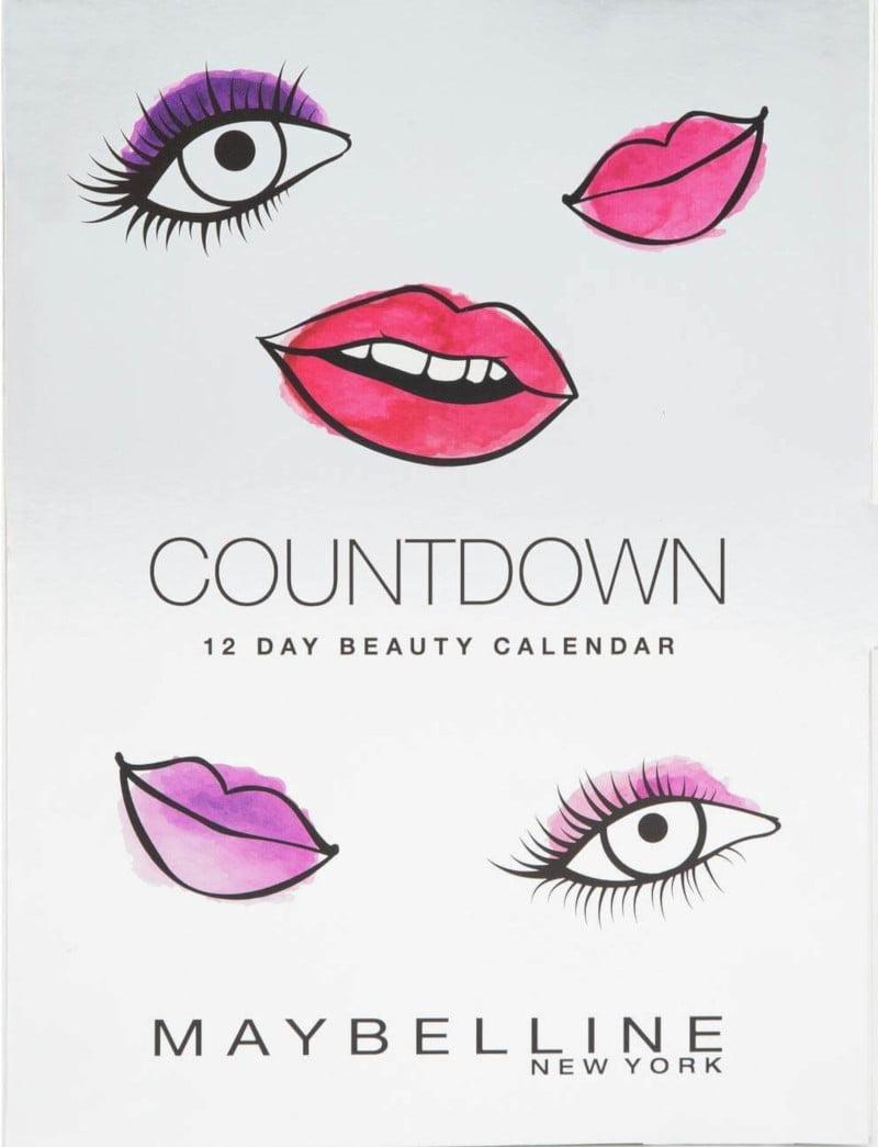 calendario adviendo belleza Maybelline