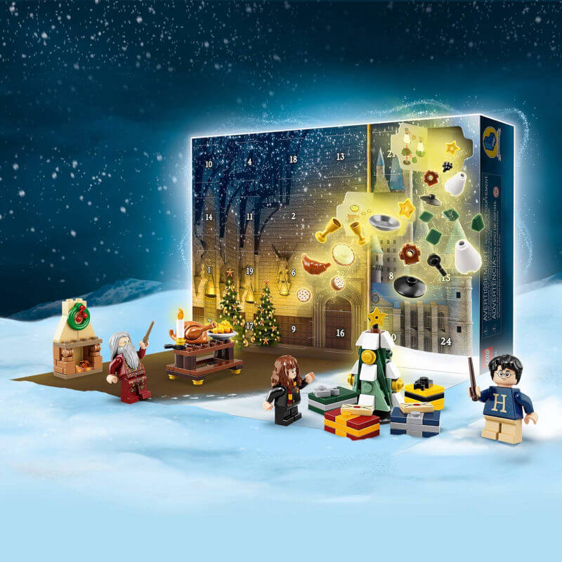 Calendario adviento Harry Potter de Lego 2019