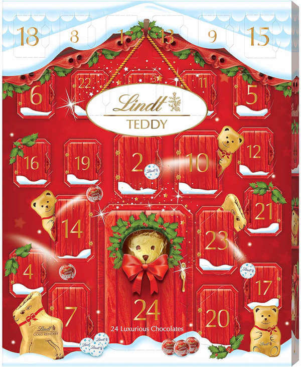 Calendario adviento de chocolate Lindt